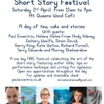 Tea Shop Tales this Saturday 2nd April