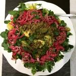 Easy Vegan Food: Lentil, avocado and mint salad