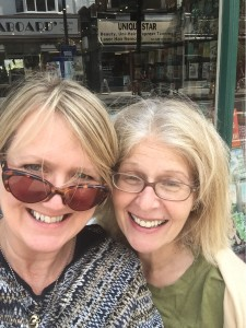 Me with the fabulous Danny from West End Lane Books in London
