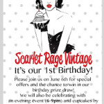 Crouch End Knowledge: Scarlet Rage Vintage